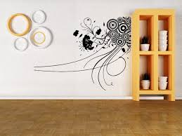 vinyl decal abstract circles flowers modern decoration art wall vinyl decal abstract circles flowers modern decoration art wall sticker m011