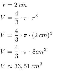 kugeloberfl che berechnen geometrie volumen und oberfläche quader zylinder und kugel