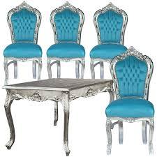 Vidaxl Esszimmerst Le Baby Blau Esszimmer Stühle Möbelideen