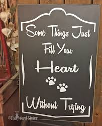 dog decor dog lovers gift i asked god for a true