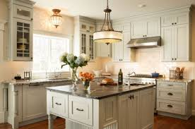 Country Kitchen Lighting Ideas Kitchens Country Kitchen With Small Island Large Within