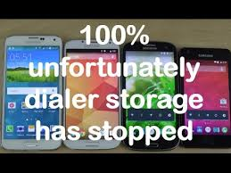 android dialer storage how to fix unfortunately dialer storage has stopped samsung galaxy