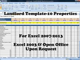 Estate Investment Spreadsheet Template by This Is Spreadsheet Is Set Up To Manage 10 Properties With A