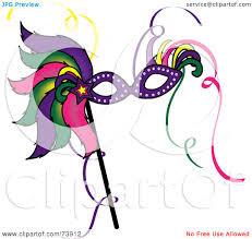 royalty free rf clipart illustration of a colorful feathered