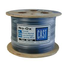 cast 12 2 no ox 250 ft wire landscape lighting products