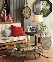 living room wuth vintage home decor decorating with vintage home