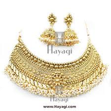 bridal necklace set images Antique bridal necklace set online heavy necklace hayagi jpg
