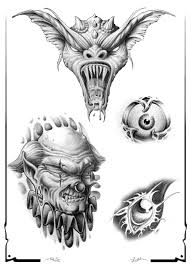 devil n demon tattoo design on shoulder in 2017 real photo