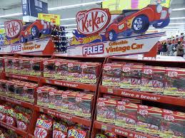 tesco kitkat limited edition vintage wheels cars offers 2017