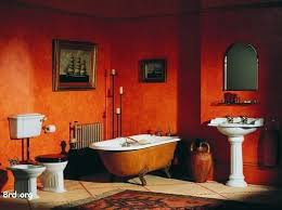 Red Bathroom Designs Colors Best 25 Orange Mediterranean Style Bathrooms Ideas On Pinterest