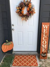 front door decor for fall under 100 with at home creative meli