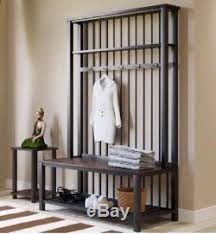 Entryway Coat Rack With Shoe Storage by Tree Bench Hat Coat Rack Shoe Storage Wood Stand Entryway Foyer