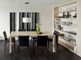 design for dining room simple decor russian minimalist apartment