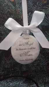 mother memorial ornament in memory of mama at christmas