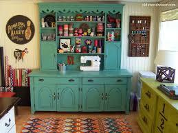 Craft Studio Ideas by Kitschy Cute Upcycled Craft Room Older U0026 Wisor Craft Storage Ideas