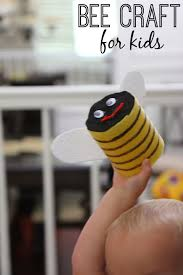 toddler approved bumble bee craft for kids