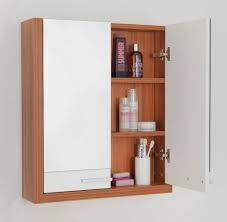 Mirrored Tall Bathroom Cabinet - plush bathroom wallcabinets with chromed as wells as decorative