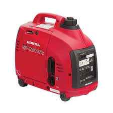 honda 5 000 watt gasoline portable generator with gfci outlet