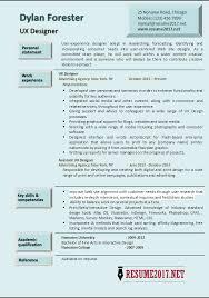Interactive Resume Examples by Download Ux Designer Resume Haadyaooverbayresort Com