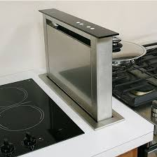 Gas Cooktop With Downdraft Vent Sirius Sudd3 20 U0027 U0027 Side Mounted Downdraft Ventilation Range Hood