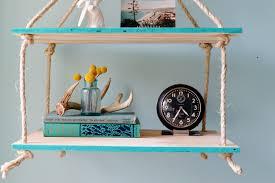 decorations diy hanging shelf also diy hanging shelf
