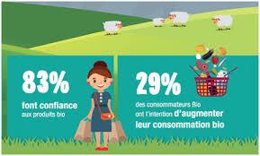 Consommation De Produits Bio Dans Le Point Consommation En Fruits Et Légumes Bio Mars 2017