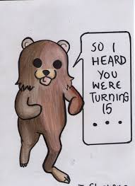 pedo bear birthday card cover by hamburgerpiez523 on deviantart