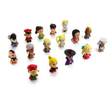 Nickel Poisoning Blindness Kidrobot Street Fighter V Blind Box Mini Series 1pc
