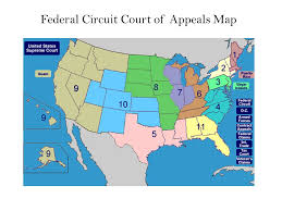 federal circuit court map numerous hr functions are affected by eeo laws e g ppt