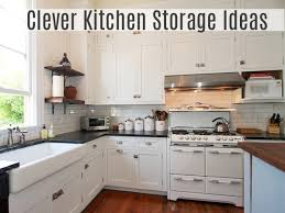 clever kitchen storage
