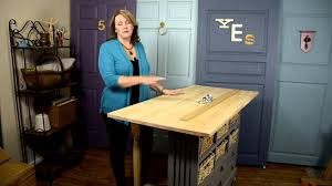 Craft Table Diy Build A Craft Table Youtube