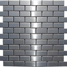 Stainless Steel Mosaic Tile Backsplash by 73 Best Stainless Steel Tile Images On Pinterest Stainless Steel