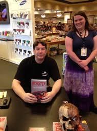 Barnes Noble Roseville Mn Book Signing Keith Ferrario Horror Novelist