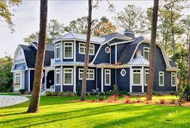 blue house paint