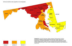 Map Of Maryland State by Radon Department Of Environmental Protection Montgomery County Md