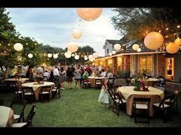 Backyard Weddings Ideas Backyard Wedding Ideas Youtube