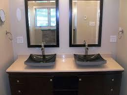 black bathroom vanity with vessel sink amazing bathroom vanities