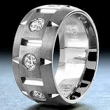 house wedding band carlex brushed white gold wedding band wb 9464 s