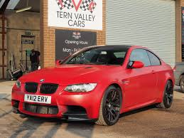 Bmw M3 Red - 2012 bmw m3 4 0 v8 m performance ltd edition smg tern valley cars