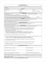 Employer Notice Of Termination by Notice To Employee Form 9 Free Documents In Pdf