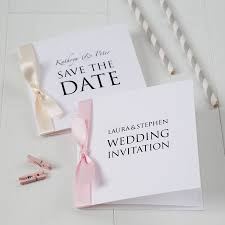 printed wedding invitations personalised wedding invitation by twenty seven