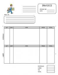 Professional Receipt Template Download Carpentry Invoice Template Uk Rabitah Net