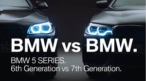 lexus vs bmw 5 series bmw 5 series comparison of 6th and 7th generation in this video