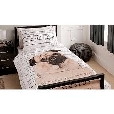 Asda Bed Sets George Home Pugshot Duvet Set Bedding Asda Direct On