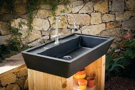 Outdoor Kitchen Sinks And Faucet Outdoor Kitchen Sink Faucet Kitchen Sinks Usa