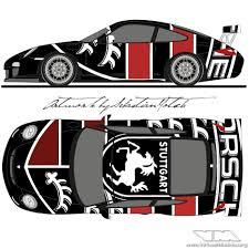 Porsche 911 Gt3rs 997 Racecar Livery Design Virtualmodels