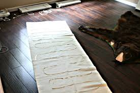 Diy Runner Rug Diy Stair Runner What Emily Does