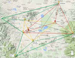 Teotihuacan Mexico Map by Uncharted Ruins The Pyramid Network Part I The Valley Of Mexico