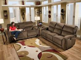 Reclining Sofa With Console by Double Reclining Sofa With Console And Power Headrest 88478p