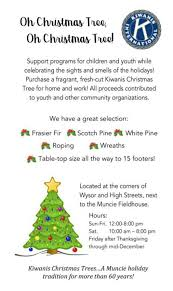 kiwanis club christmas trees to be available again this year